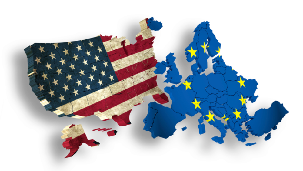 Resultado de imagen para US-EU flag png