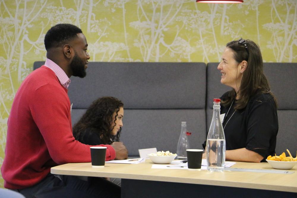 mentor mentee speed dating