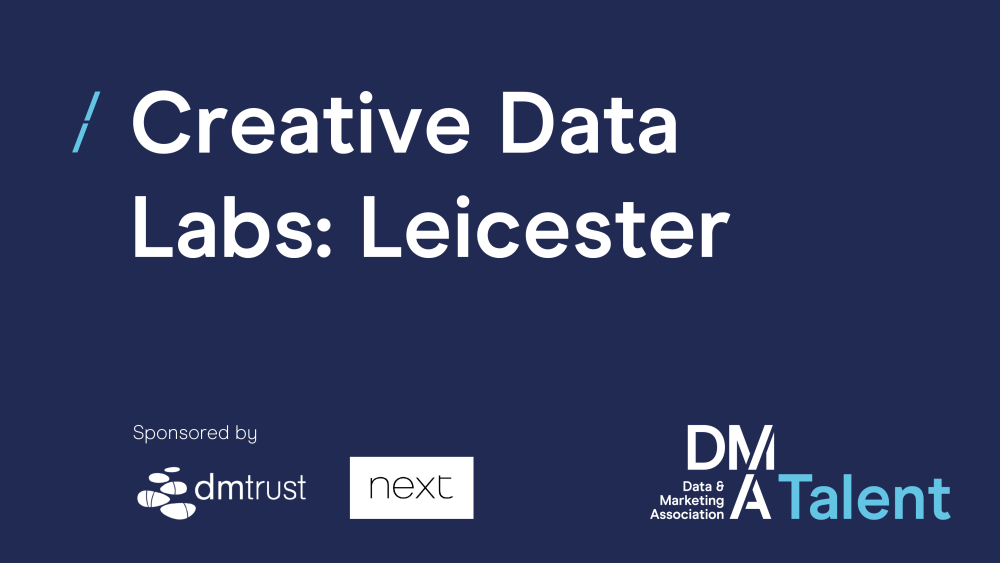 Next plc confirmed as sponsors for DMA Talent's Creative Data Lab in