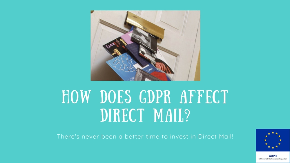 How Does GDPR Affect Direct Mail?   DMA