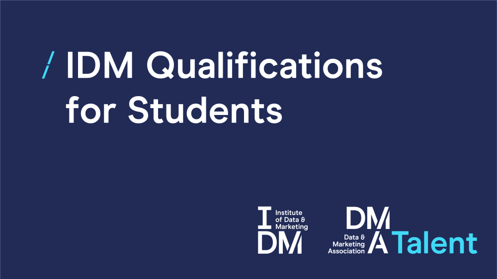 IDM Qualifications for students