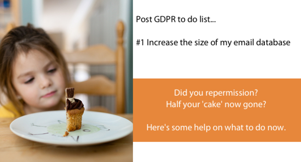 Post GDPR to do list: #1 Increase the size of my engaged email